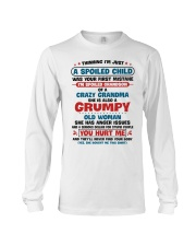 I'm Spoiled Grandson Of A Crazy Grandma Long Sleeve Tee thumbnail
