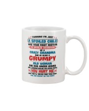 I'm Spoiled Grandson Of A Crazy Grandma Mug thumbnail