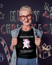 Grandmacorn Ladies T-Shirt lifestyle-holiday-crewneck-front-3