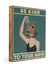 Be Kind To Your Mind Gallery Wrapped Canvas Prints tile