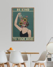 Be Kind To Your Mind 20x30 Gallery Wrapped Canvas Prints aos-canvas-pgw-20x30-lifestyle-front-05