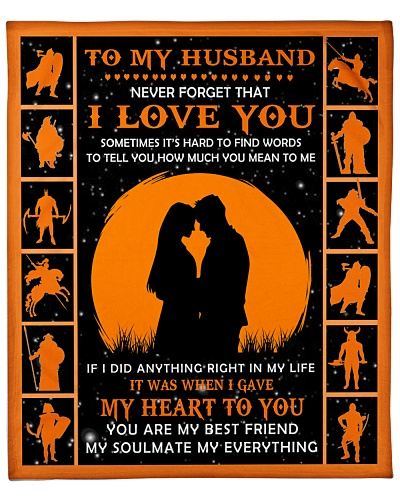 To My Husband Never Forget That I Love You