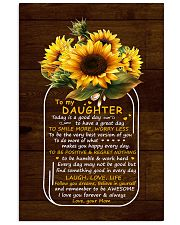 Today Is A Good Day  Mom To Daughter Vertical Poster tile