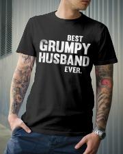 Best Grumpy Husband Ever Classic T-Shirt lifestyle-mens-crewneck-front-6