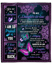 "I Did Not Get To Choose You To Daughter-In-Law  Fleece Blanket - 50"" x 60"" front"