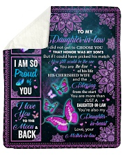 "I Did Not Get To Choose You To Daughter-In-Law  Sherpa Fleece Blanket - 50"" x 60"" thumbnail"