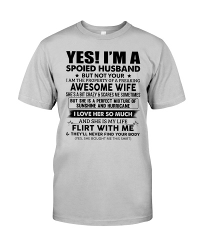Spoiled Husband Of AFreaking Awsm Wife-For Husband