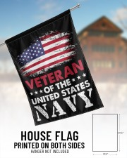 """Veteran Of The United States Navy 29.5""""x39.5"""" House Flag aos-house-flag-29-5-x-39-5-ghosted-lifestyle-01"""