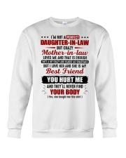 I'm Not Pefect DIl But Crazy MIL Loves Me Crewneck Sweatshirt thumbnail