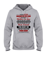 I'm Not Pefect DIl But Crazy MIL Loves Me Hooded Sweatshirt front