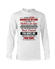 I'm Not Pefect DIl But Crazy MIL Loves Me Long Sleeve Tee thumbnail