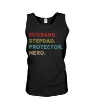 Husband Stepdad Protector Hero Unisex Tank thumbnail