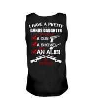 I have a pretty Bonus Daughter be careful Unisex Tank thumbnail