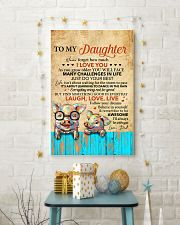 Never Forget How Much I Love U Pig Dad To Daughter 11x17 Poster lifestyle-holiday-poster-3