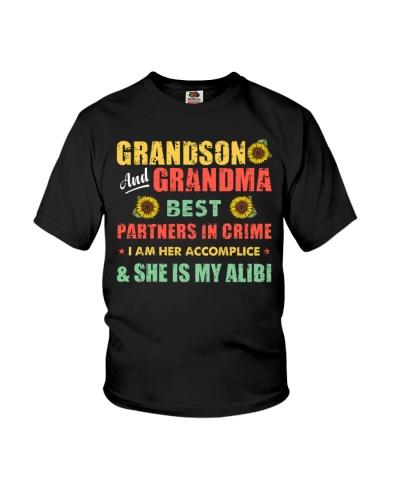 Grandson And Grandma Best Partner In Crime