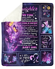 """Butterfly-Always Remember I Love U Mom-To-Daughter Sherpa Fleece Blanket - 50"""" x 60"""" thumbnail"""