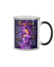 Butterfly-Im Proud Of You Mom-To-Son Color Changing Mug thumbnail