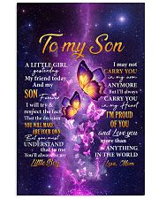 Butterfly-Im Proud Of You Mom-To-Son 11x17 Poster thumbnail