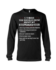 55things you should know about my StepDaughter Long Sleeve Tee thumbnail