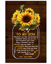 U Are Braver Than U Think Mom To Son Vertical Poster tile