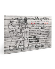 Never Feel That U Are Alone Dad To Daughter Gallery Wrapped Canvas Prints tile