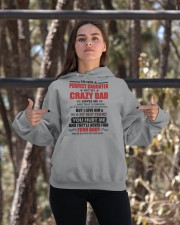 I'm Not Perfect Daughter But My Crazy Dad Loves Me Hooded Sweatshirt apparel-hooded-sweatshirt-lifestyle-05