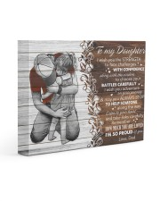 I Wish The Strenght To Face Challenges To Daughter 14x11 Gallery Wrapped Canvas Prints front