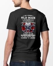 I Am A Grumpy Old Man Classic T-Shirt lifestyle-mens-crewneck-back-5