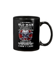 I Am A Grumpy Old Man Mug tile
