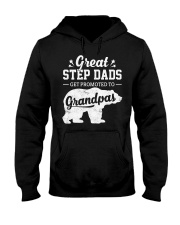 Great Stepdads Get Promoted To Grandpas Hooded Sweatshirt thumbnail