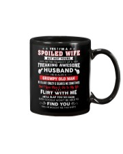 I'm A Spoiled Wife But Not Yours Mug thumbnail