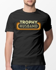 Trophy Husband Classic T-Shirt lifestyle-mens-crewneck-front-13