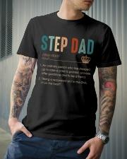 Step Dad Classic T-Shirt lifestyle-mens-crewneck-front-6