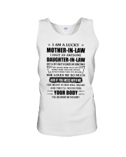 Lucky Mother-In-Law HaveAn Awesome Daughter-In-Law Unisex Tank thumbnail