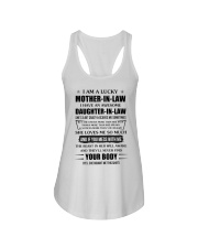 Lucky Mother-In-Law HaveAn Awesome Daughter-In-Law Ladies Flowy Tank thumbnail