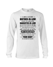 Lucky Mother-In-Law HaveAn Awesome Daughter-In-Law Long Sleeve Tee thumbnail