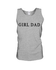Girl Dad Unisex Tank thumbnail