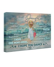 Personalized Name I Hope U Feel Small To Daughter 24x16 Gallery Wrapped Canvas Prints front