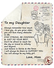 """Daughter Stay Strong Be Confiden Just Do Your Best Sherpa Fleece Blanket - 50"""" x 60"""" thumbnail"""