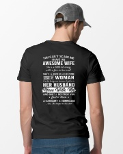 I Have An Awesome Wife Classic T-Shirt lifestyle-mens-crewneck-back-6