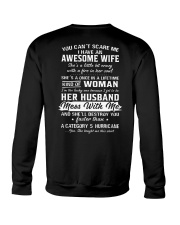 I Have An Awesome Wife Crewneck Sweatshirt thumbnail