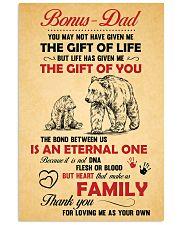 Bonus Dad 11x17 Poster front
