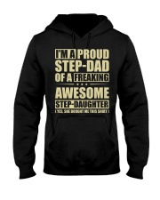 I'm A Proud Stepdad Of A Awesome Stepdaughter Hooded Sweatshirt thumbnail
