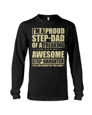 I'm A Proud Stepdad Of A Awesome Stepdaughter Long Sleeve Tee thumbnail
