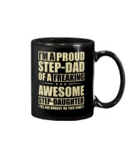 I'm A Proud Stepdad Of A Awesome Stepdaughter Mug thumbnail
