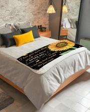 "To My Daughter Sherpa Fleece Blanket - 50"" x 60"" aos-sherpa-fleece-blanket-lifestyle-front-01"