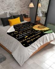 "To My Daughter Sherpa Fleece Blanket - 50"" x 60"" aos-sherpa-fleece-blanket-lifestyle-front-02"
