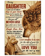 I Want U To Believe In Your Heart-Mom To Daughter 11x17 Poster front
