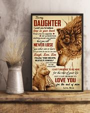 I Want U To Believe In Your Heart-Mom To Daughter 11x17 Poster lifestyle-poster-3