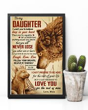 I Want U To Believe In Your Heart-Mom To Daughter 11x17 Poster lifestyle-poster-8